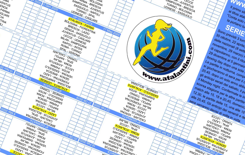 Calendario Serie A Anticipi Posticipi 2020.L Atalanta E I Suoi Tifosi Atalantini Com